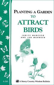 Cover of: Gardening to attract birds