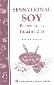 Cover of: Sensational Soy | Miriam Jacobs