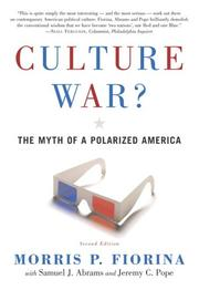 Cover of: Culture war? | Morris P. Fiorina