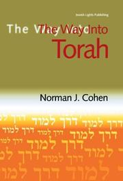 Cover of: The Way into Torah (Way Into--) | Norman J. Cohen