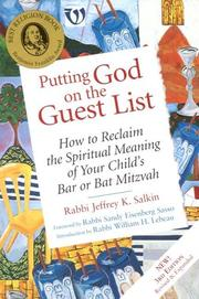 Cover of: Putting God On The Guest List | Jeffrey K. Salkin