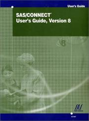 SAS/CONNECT User's Guide, Version 8 by