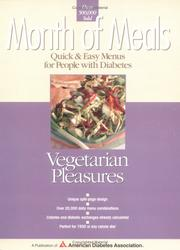 Cover of: Vegetarian pleasures