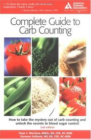 Cover of: ADA Complete Guide to Carb Counting
