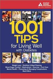 Cover of: 1001 tips for living well with diabetes