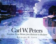 Cover of: Carl W. Peters | Richard H. Love