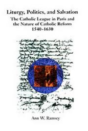 Cover of: Liturgy, politics, and salvation
