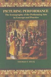 Cover of: Picturing performance