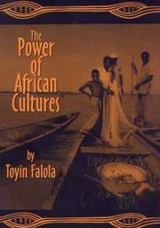 Cover of: The power of African cultures