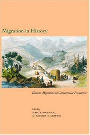 Cover of: Migration in History |