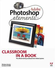 Cover of: Adobe Photoshop Elements 4.0 Classroom in a Book | Adobe Systems Inc.