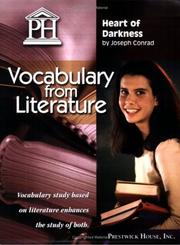 Cover of: Heart of Darkness - Vocabulary from Literature | Joseph Conrad