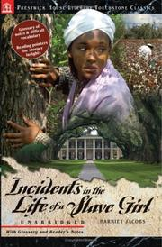 Cover of: Incidents in the Life of a Slave Girl