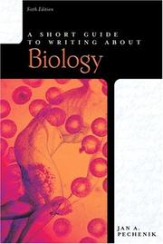 Cover of: Short Guide to Writing About Biology, A (6th Edition) (Short Guides Series)