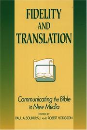Cover of: Fidelity and Translation | Soukup Paul A.