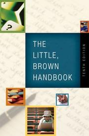 Cover of: The Little, Brown Handbook (10th Edition) | H. Ramsey Fowler