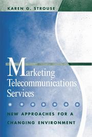 Cover of: Marketing Telecommunications Services  | Karen G. Strouse