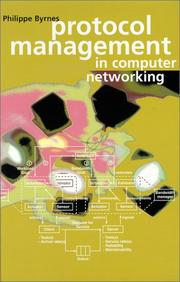 Cover of: Protocol management in computer networking