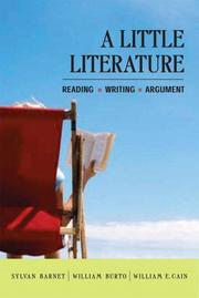 Cover of: A little literature
