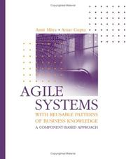 Cover of: Agile systems with reusable patterns of business knowledge