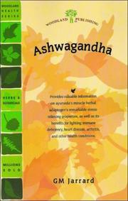 Cover of: Ashwagandha | G. M. Jarrard
