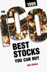 Cover of: 100 Best Stocks You Can Buy, 1999