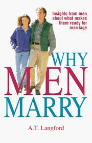 Why Men Marry by A. T. Langford