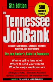 Cover of: The Tennessee Jobbank | Michelle Roy Kelly