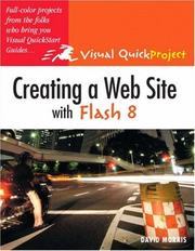 Cover of: Creating a Web Site with Flash 8 | David Morris