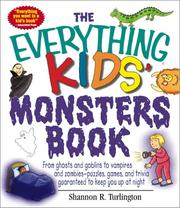 Cover of: The Everything Kids' Monsters Book by Cheryl Kimball