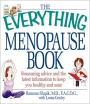 Cover of: The Everything Menopause Book | Ramona Slupik