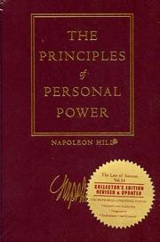 Cover of: The principles of personal power