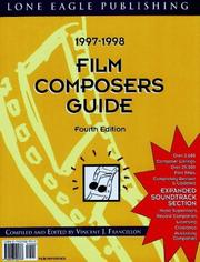 Cover of: Film Composers Directory, 5th Edition (Film Composers Directory) | Vincent Francillion