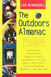 Cover of: The outdoors almanac