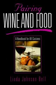 Cover of: Pairing wine and food | Linda Johnson-Bell