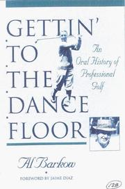 Cover of: Gettin' to the dance floor