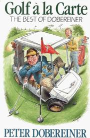 Cover of: Golf à la carte