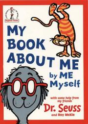 Cover of: My book about me
