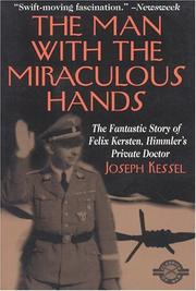 Cover of: The Man With the Miraculous Hands