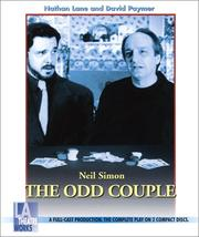 Cover of: The odd couple: a comedy in three acts