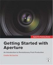 Cover of: Apple Pro Training Series | Estelle McGechie