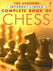Cover of: The Complete Book of Chess (Usborne Internet-Linked Complete Books) |