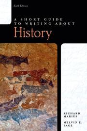 Short Guide to Writing About History, A (6th Edition) (Short Guides Series)