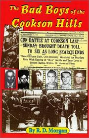 Cover of: The Bad Boys of the Cookson Hills by R. D. Morgan