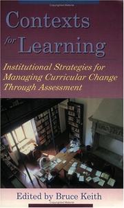 Cover of: Context for Learning | Bruce Keith