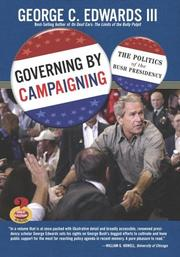Cover of: Governing by Campaigning