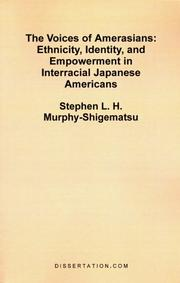 Cover of: The Voices of Amerasians | Stephen L. H. Murphy-Shigematsu