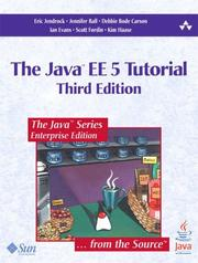 Cover of: Java(TM) EE 5 Tutorial, The (3rd Edition) (The Java Series) | Eric Jendrock