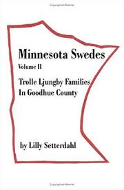 Minnesota Swedes by Lilly Setterdahl