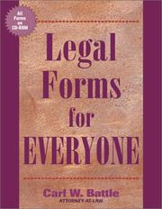 Cover of: Legal forms for everyone